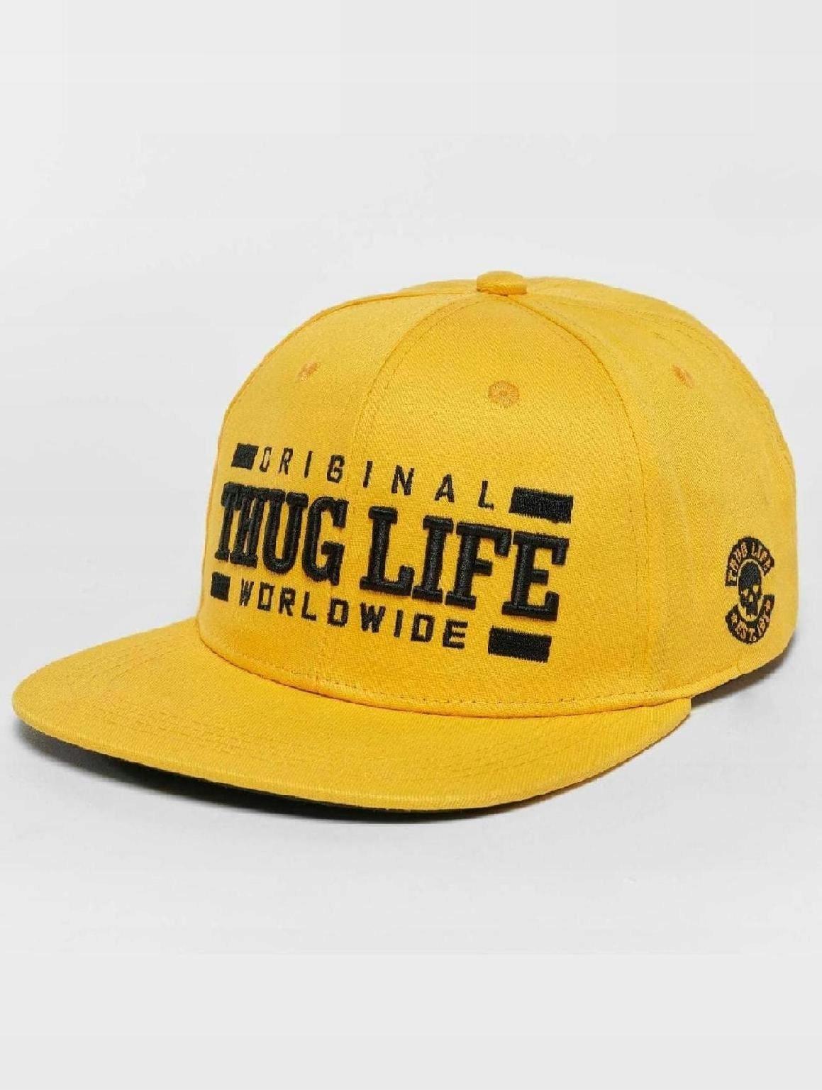 Czapka Thug Life Snapback Cap Anaconda in yellow - 7495366929 ... 660427605e