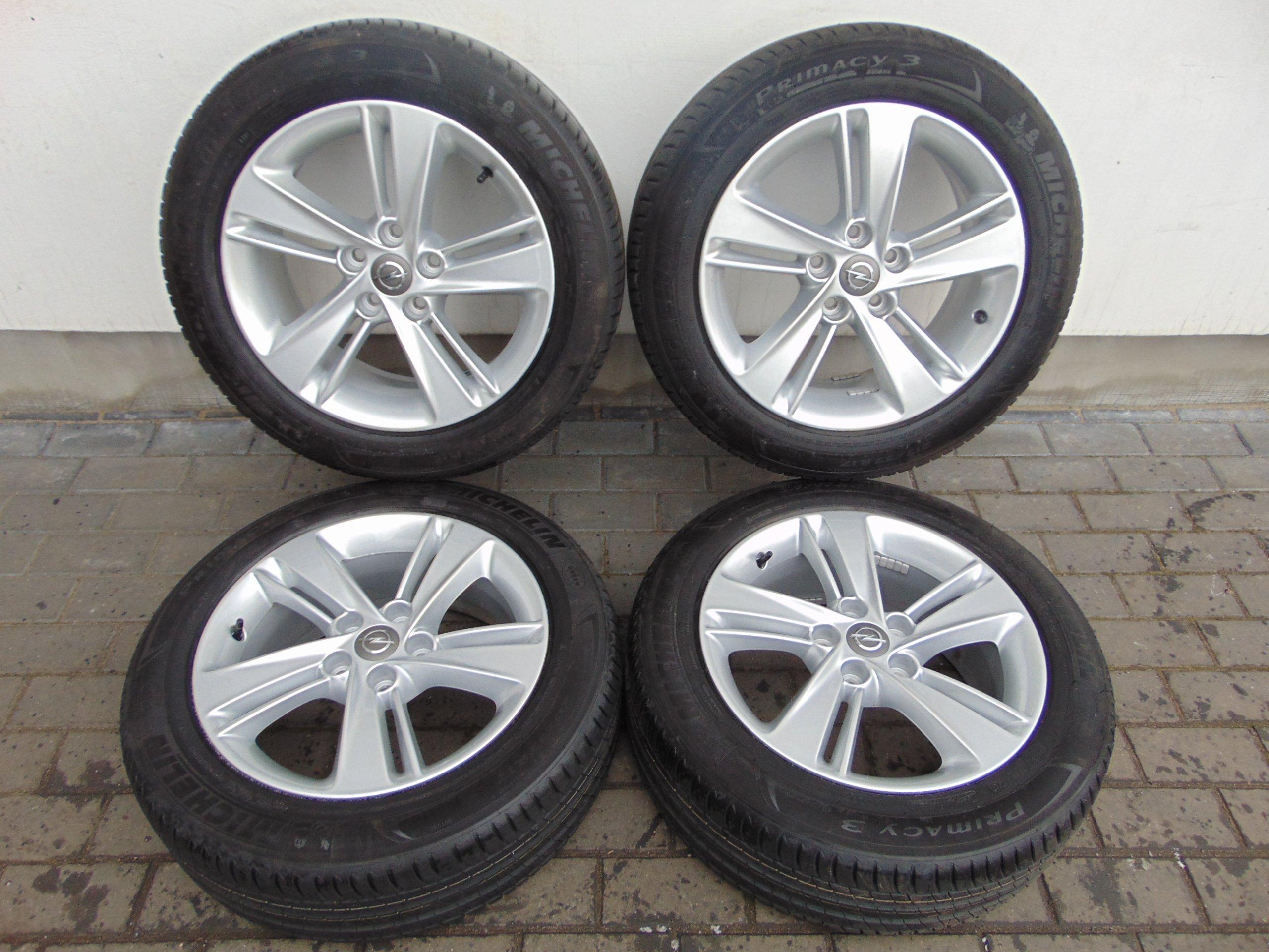 Opel Insignia B Astra J Zafira Felgi Aluminiowe 17 7101596996