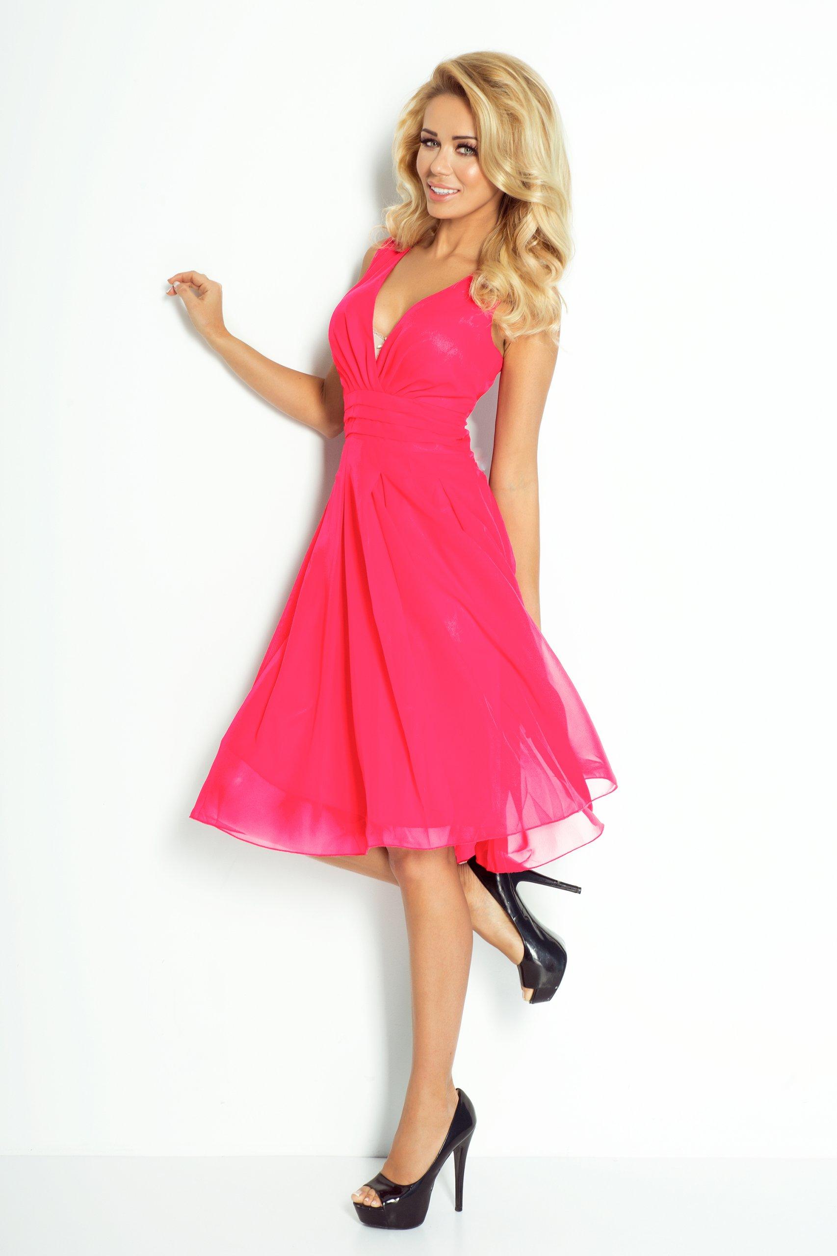 bcf9722c45 Modna Młodzieżowa Sukienka KOKTAJLOWA 35-10 XL 42 - 7197453842 ...