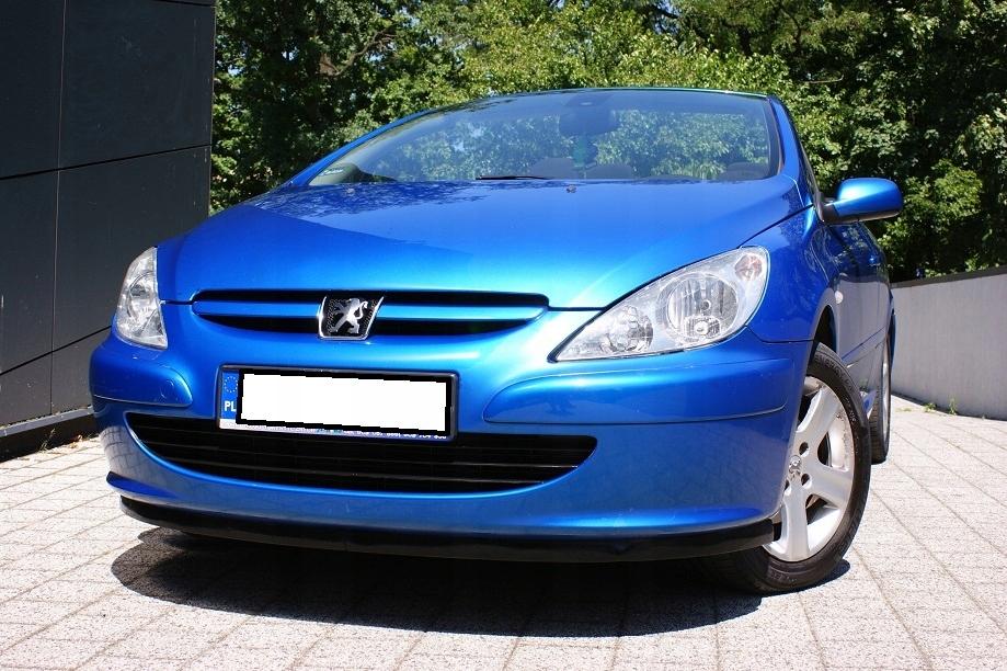 Śliczny i Zadbany Peugeot 307 cc 2,0 benzyna