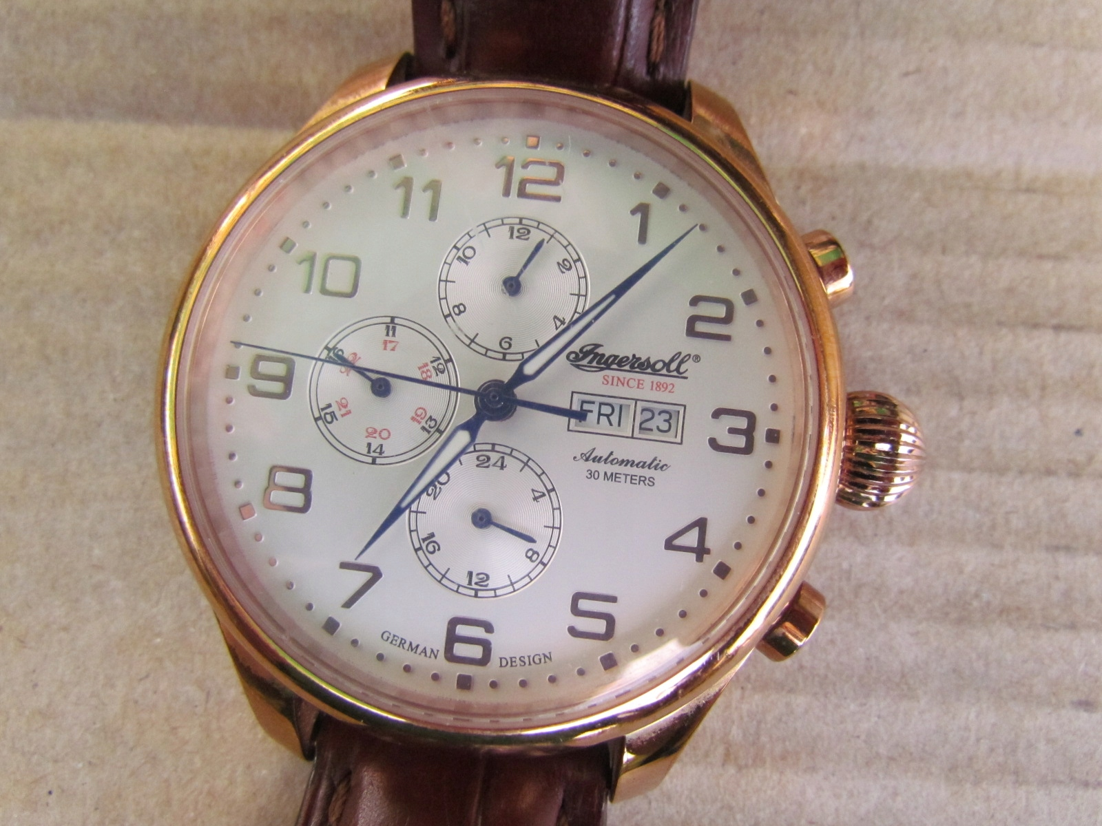 Ingersoll Apache 3900 MC Limited Edition Automatic - 7448747548 ... 4ebee0808c5