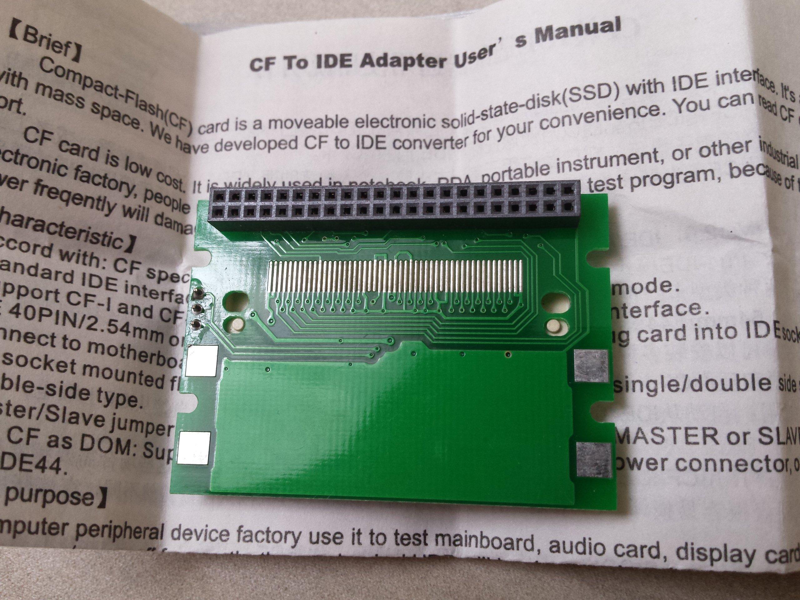 przejściówka IDE 2 5