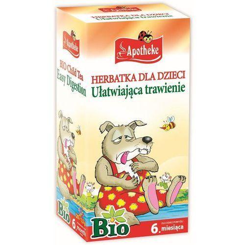 Apotheke bio herbatka dla dzieci ułatwiająca trawi