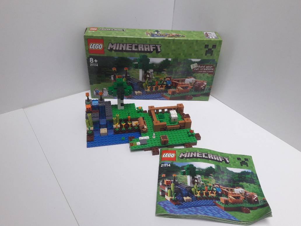 Lego Minecraft 21114 Farma 7185516980 Oficjalne Archiwum Allegro