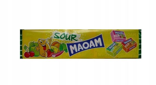 MAOAM gumy rozpuszczalne 10szt 220g Haribo Kwaśne