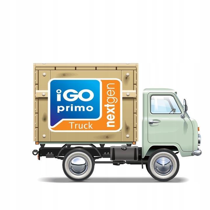 iGO PRIMO NEXTGEN TRUCK 2018 ANDROID/WINDOWS - 7510708965