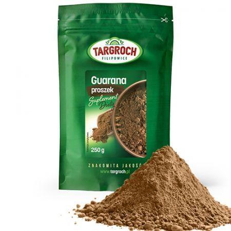 GUARANA MIELONA naturalna kofeina 250g TARGROCH