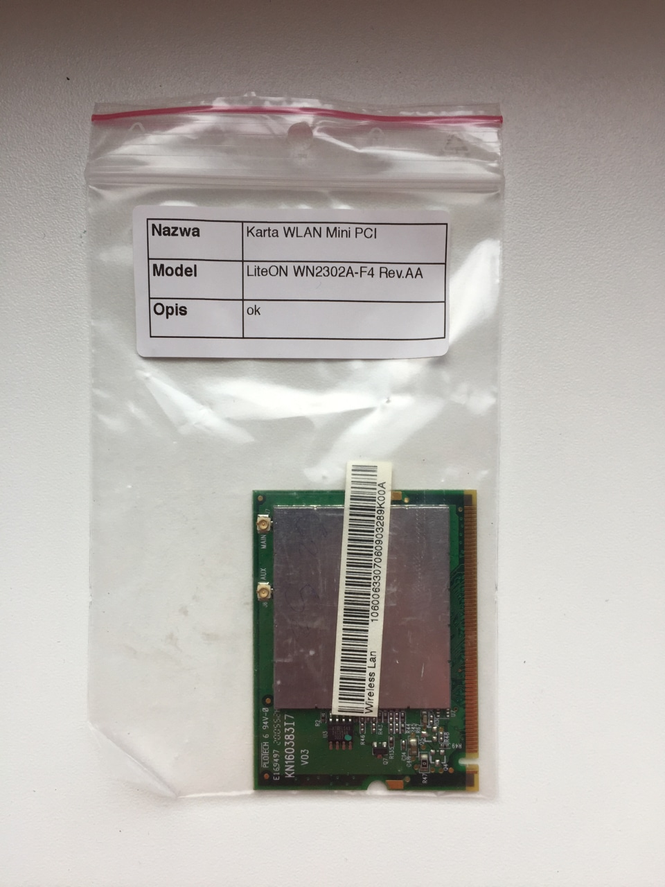 DRIVER: LITE-ON WN2302A-F4