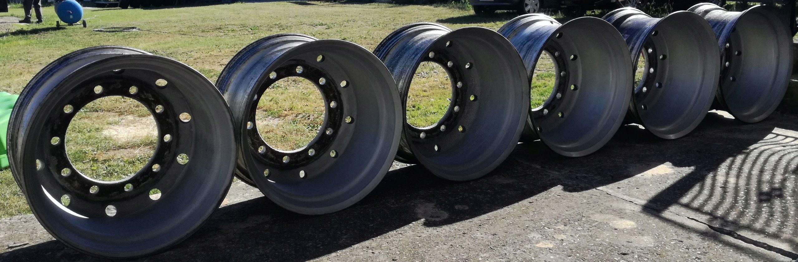 Alufelgi Felgi Aluminiowe Do Naczepy 225 Komplet 7389222508