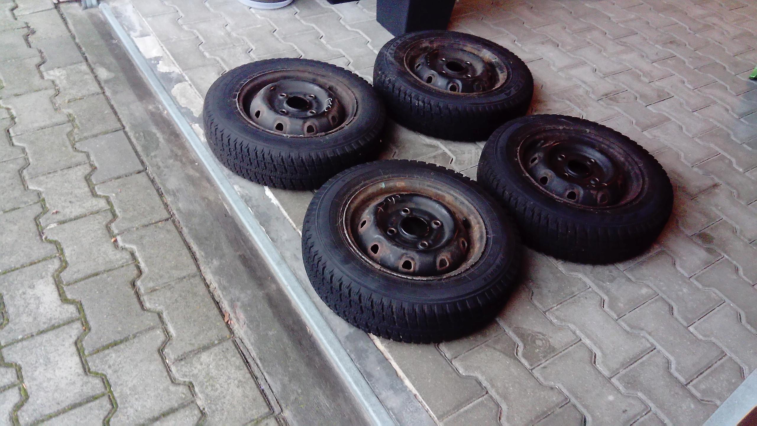 Opony Felgi Zimowe Daewoo Tico 13580 Dębica 7708285423