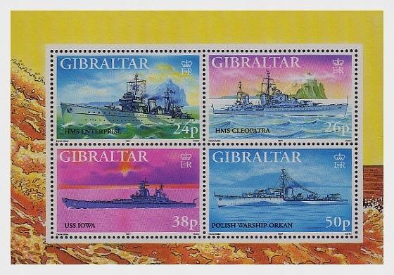 Gibraltar 1997, II wojna, okręty, polski ORK Orkan
