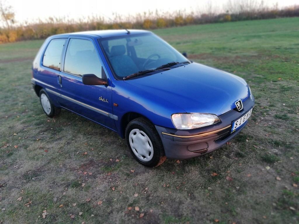 Peugeot 106, 1,0 jak nowy 87tys km,1-własć.z Niem.