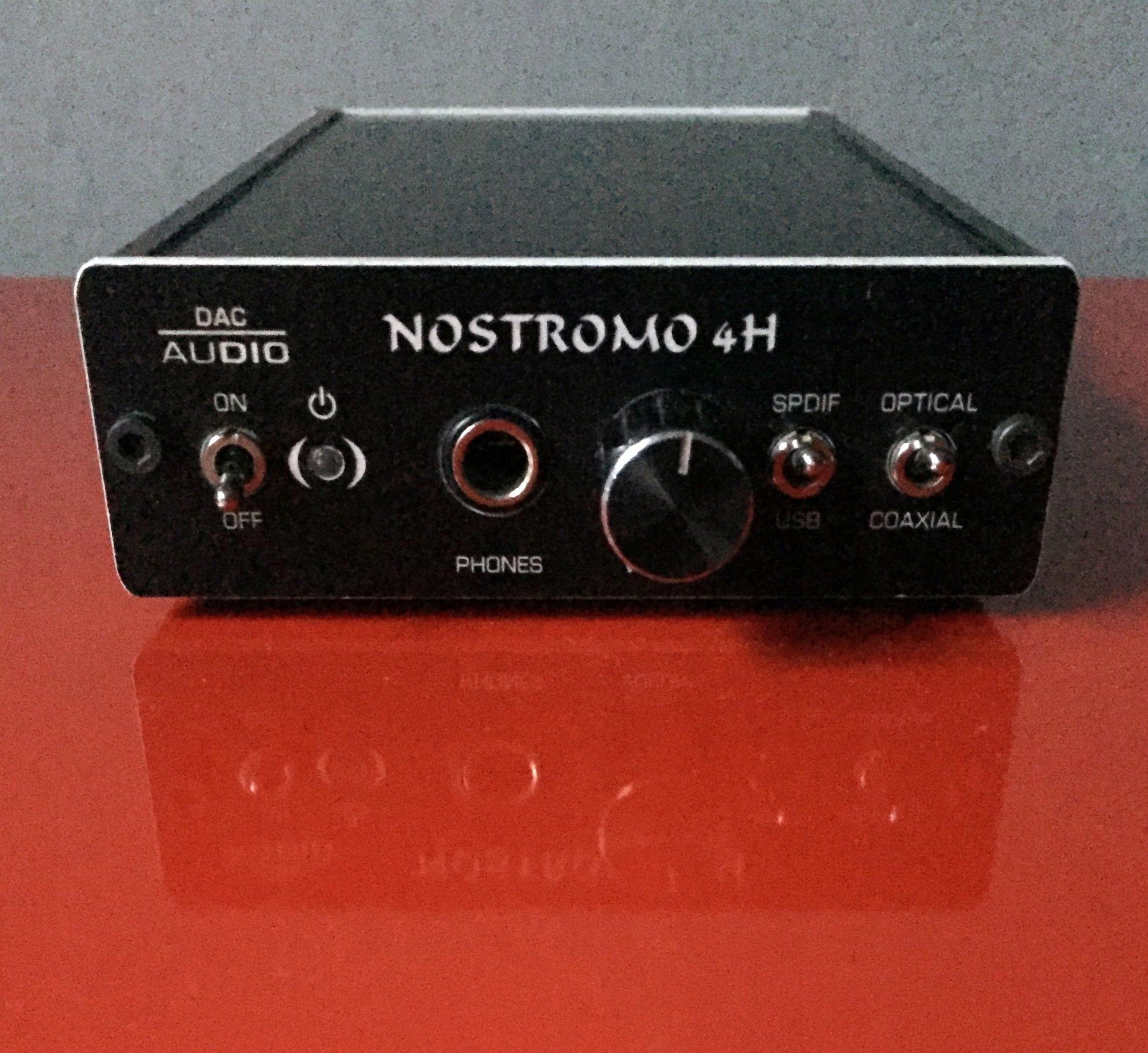 Dac NOSTROMO 4H + wzmacniacz słuchawkowy 192KHz/24