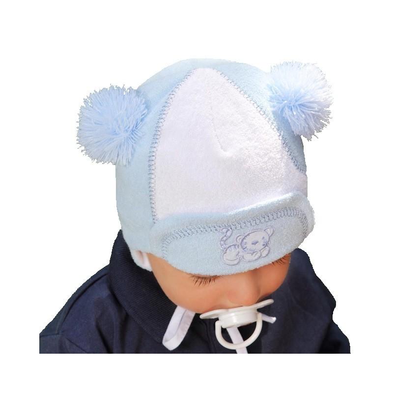 56a160018154da Czapka czapeczka jesienna ciepła dla chłopca 12+ - 6987277461 ...