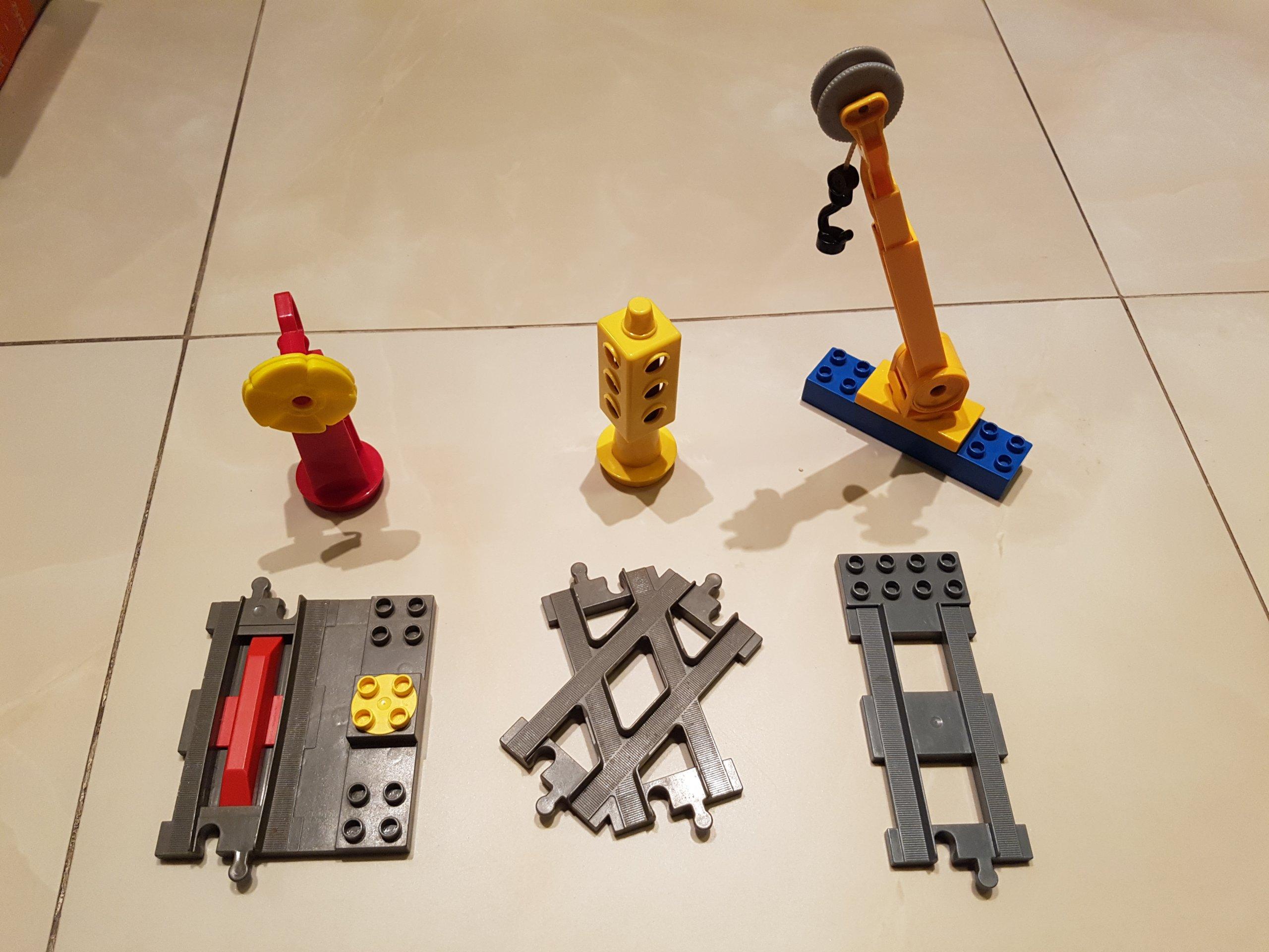 Lego Duplo Zestaw Tory Dźwig Oraz Inne 7394600522 Oficjalne