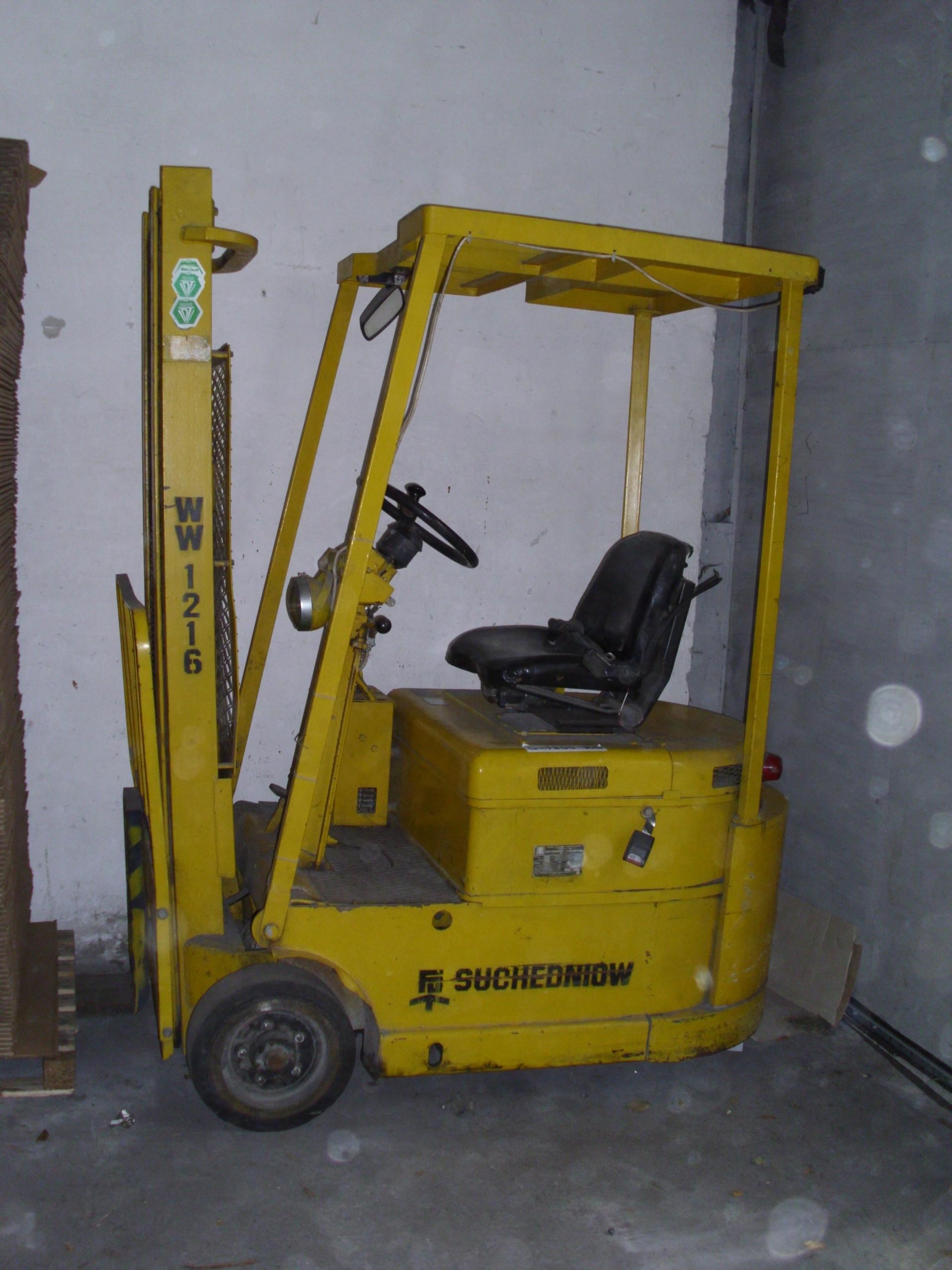 Aktualne Wózek widłowy (widlak) elektryczny - SUCHEDNIOW - 7596173198 FF87