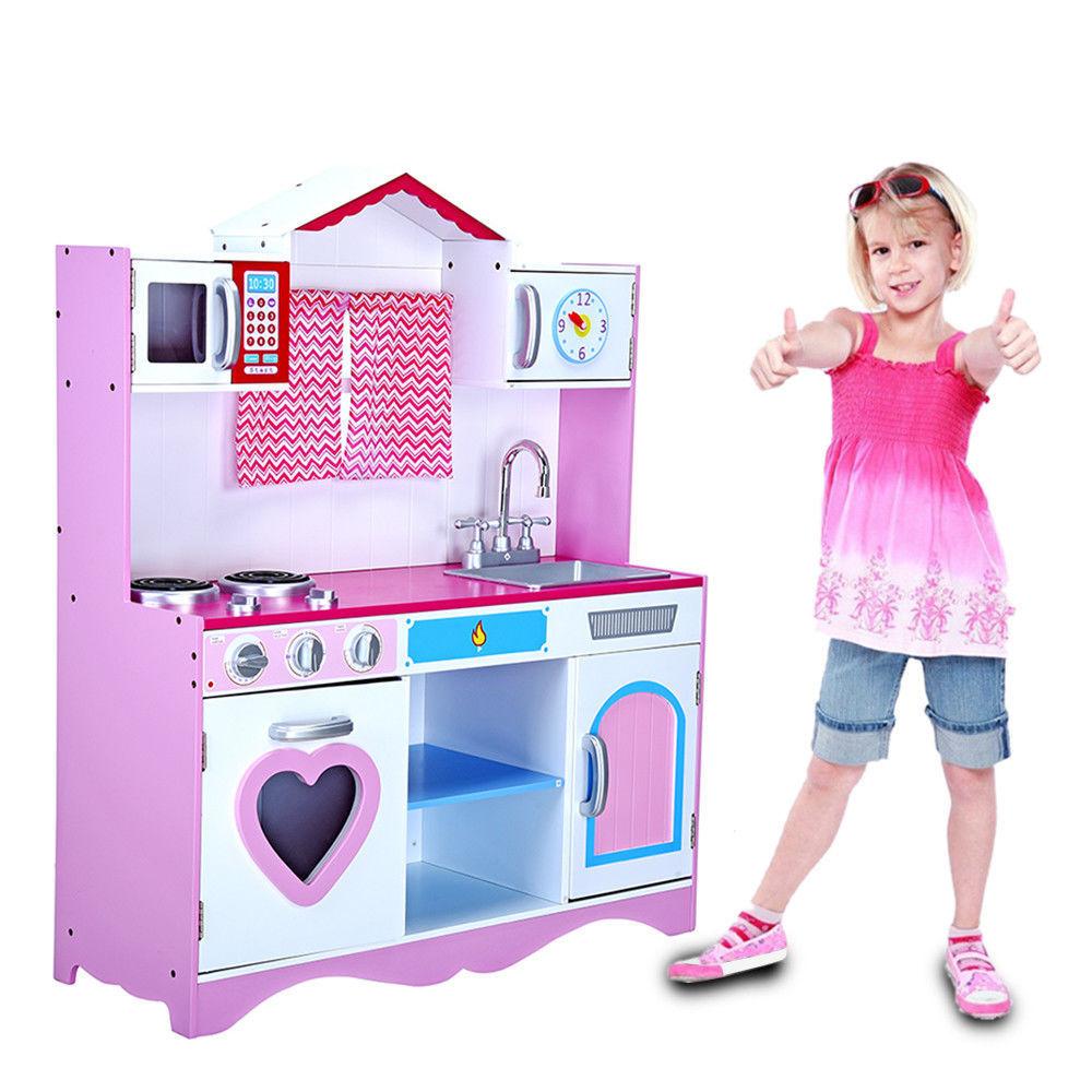 Drewniana Kuchnia Kuchenka Dla Dziecka Duza 110cm 7371682798