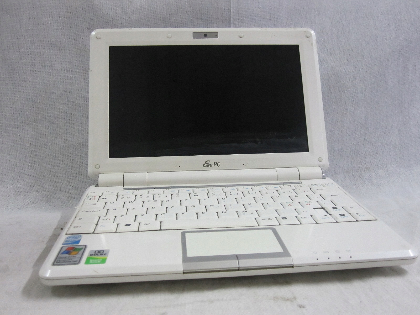 Laptop Asus Eee PC 1000H Intel 1,60GHz 2GB 120GB