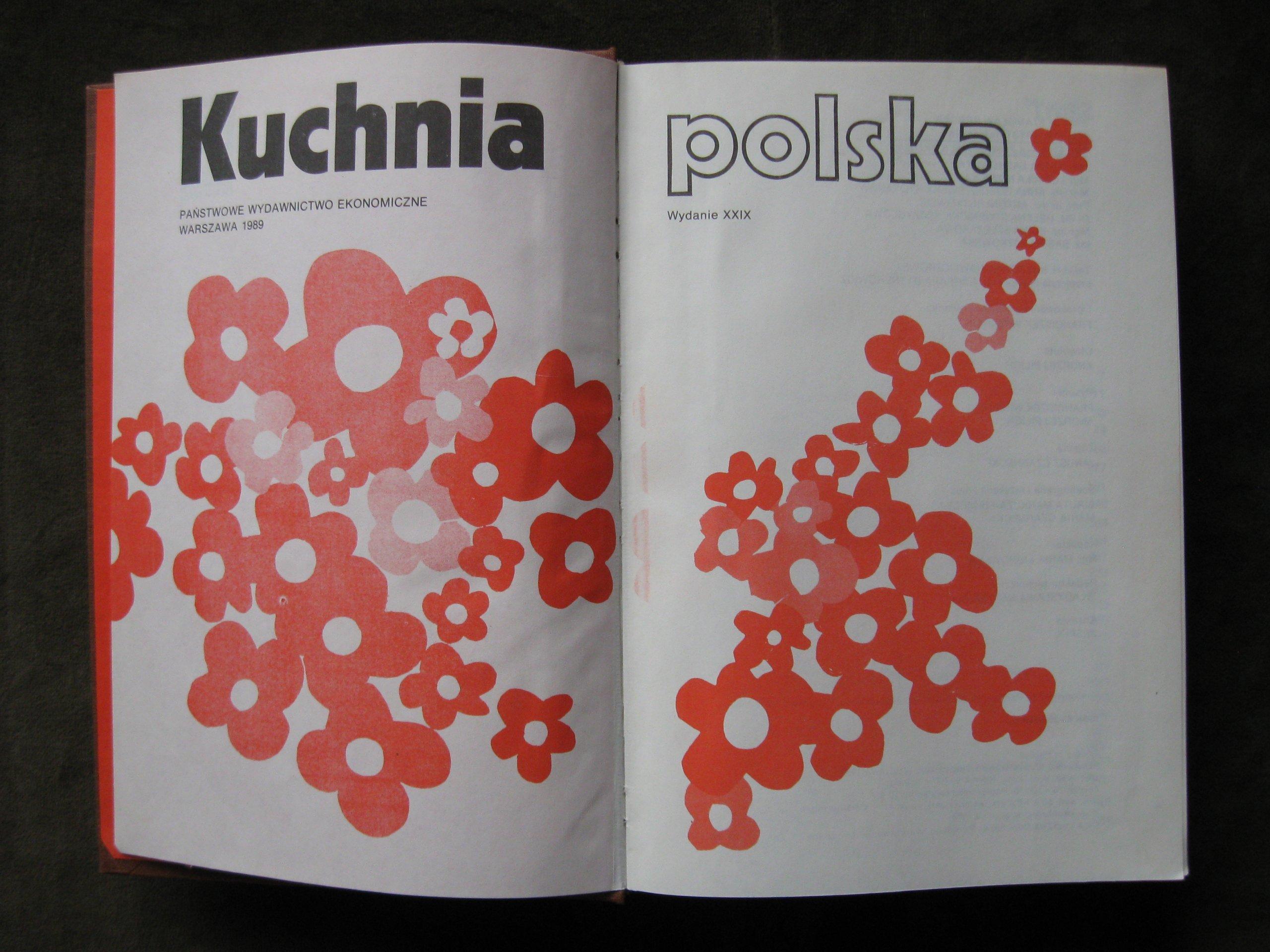 Stara Książka Kucharska Kuchnia Polska 1989 7295732595
