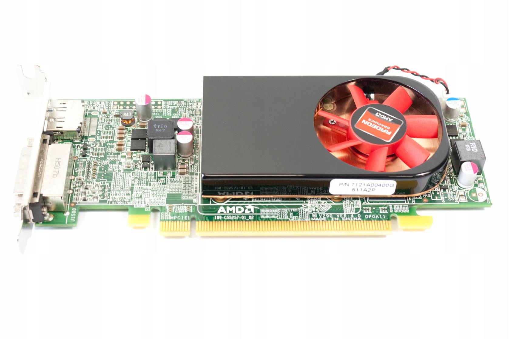AMD ATI Radeon R7 250 2GB DDR3 DVI DisplayPort - 7634182666