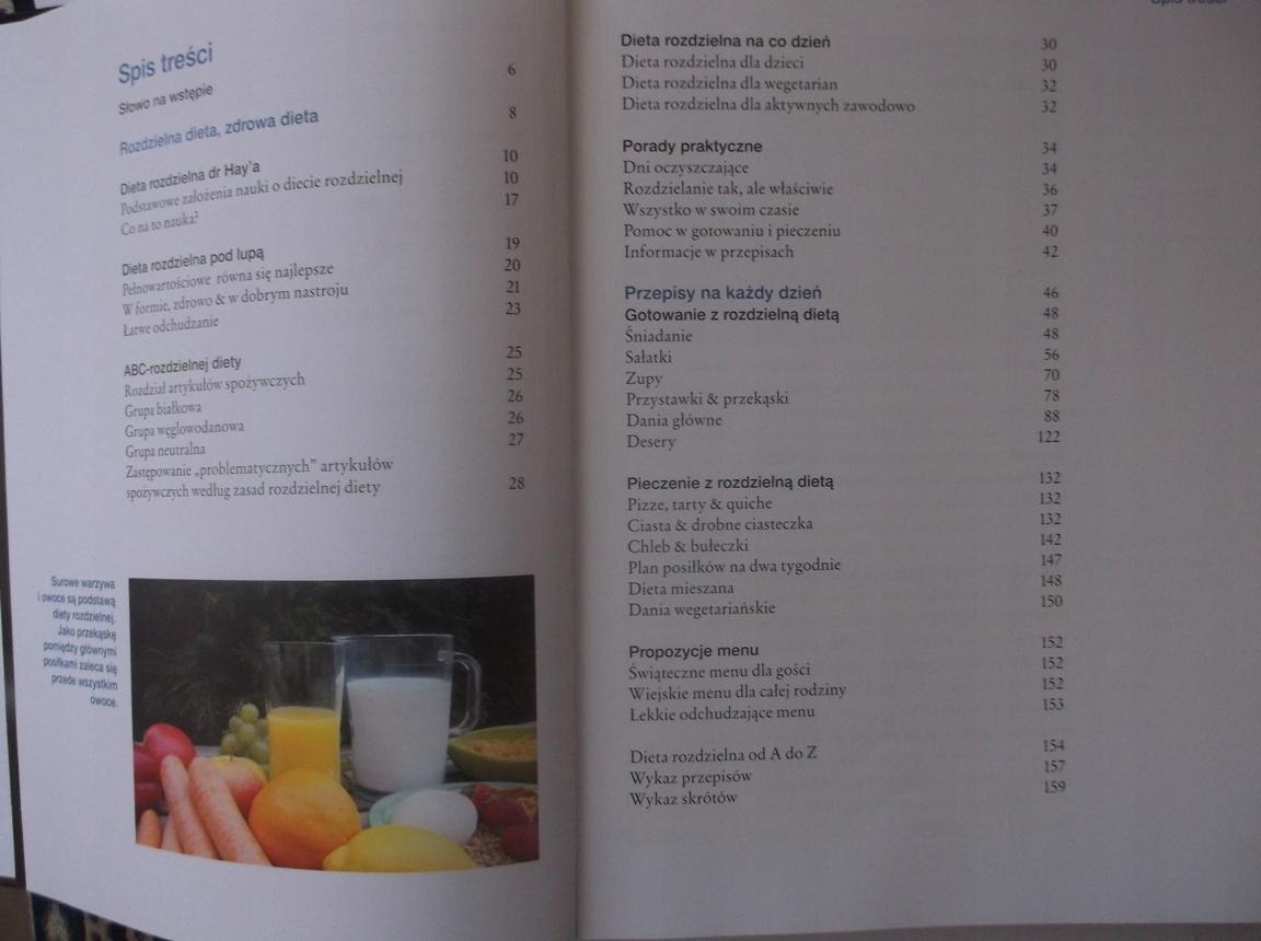 Zdrowa Dieta Rozdzielna Monika Juda 489 7502550288 Oficjalne