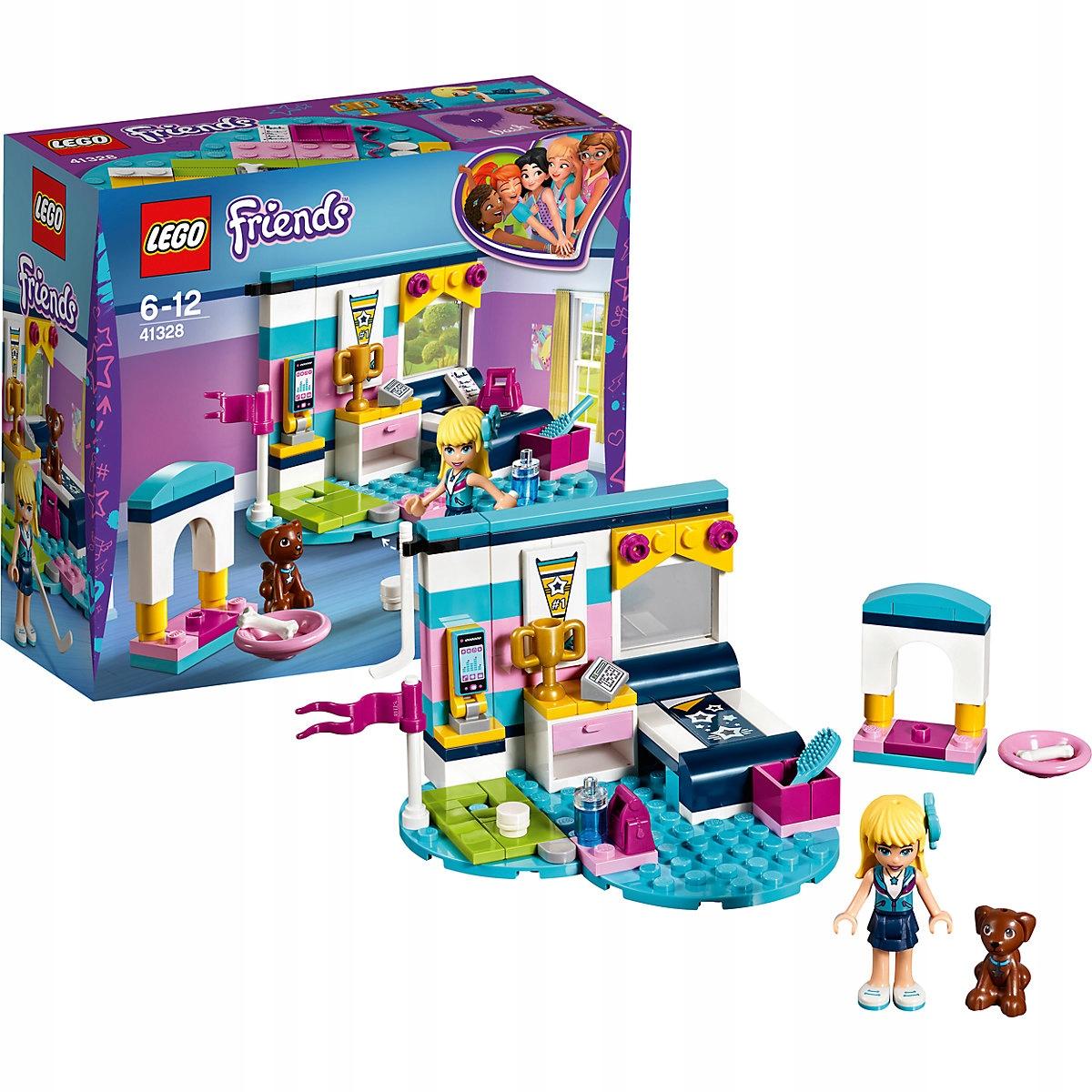 Lego Friends Sypialnia Stephanie 41328 7618017488