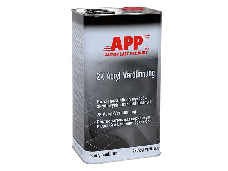 Rozcieńczalnik do akryli i lakierów APPnormalny 5L