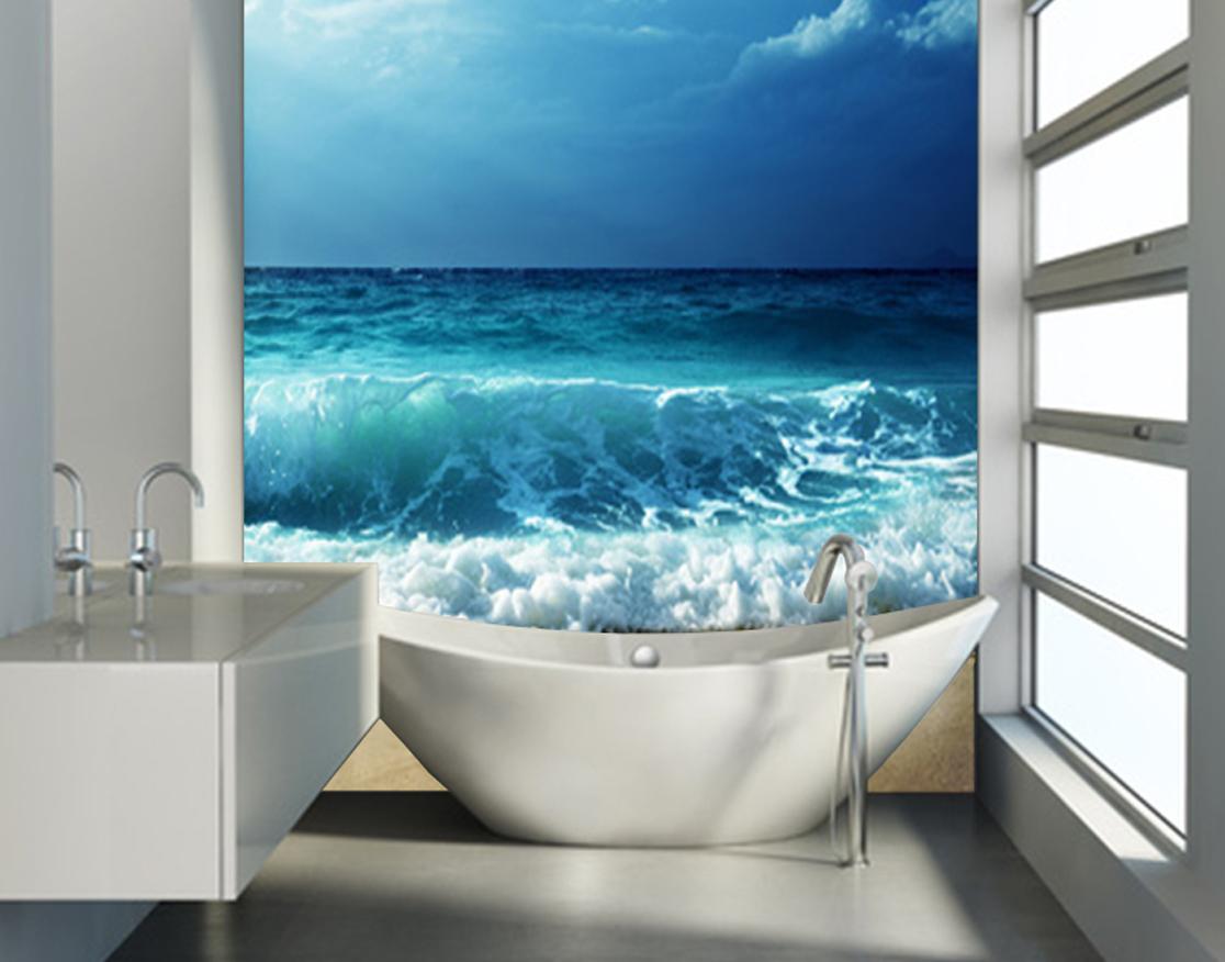 Panele Szklane Do łazienki Lacobel Na Wymiar 6794804728