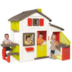 SMOBY Domek Friends House z ogródkiem i kuchnią