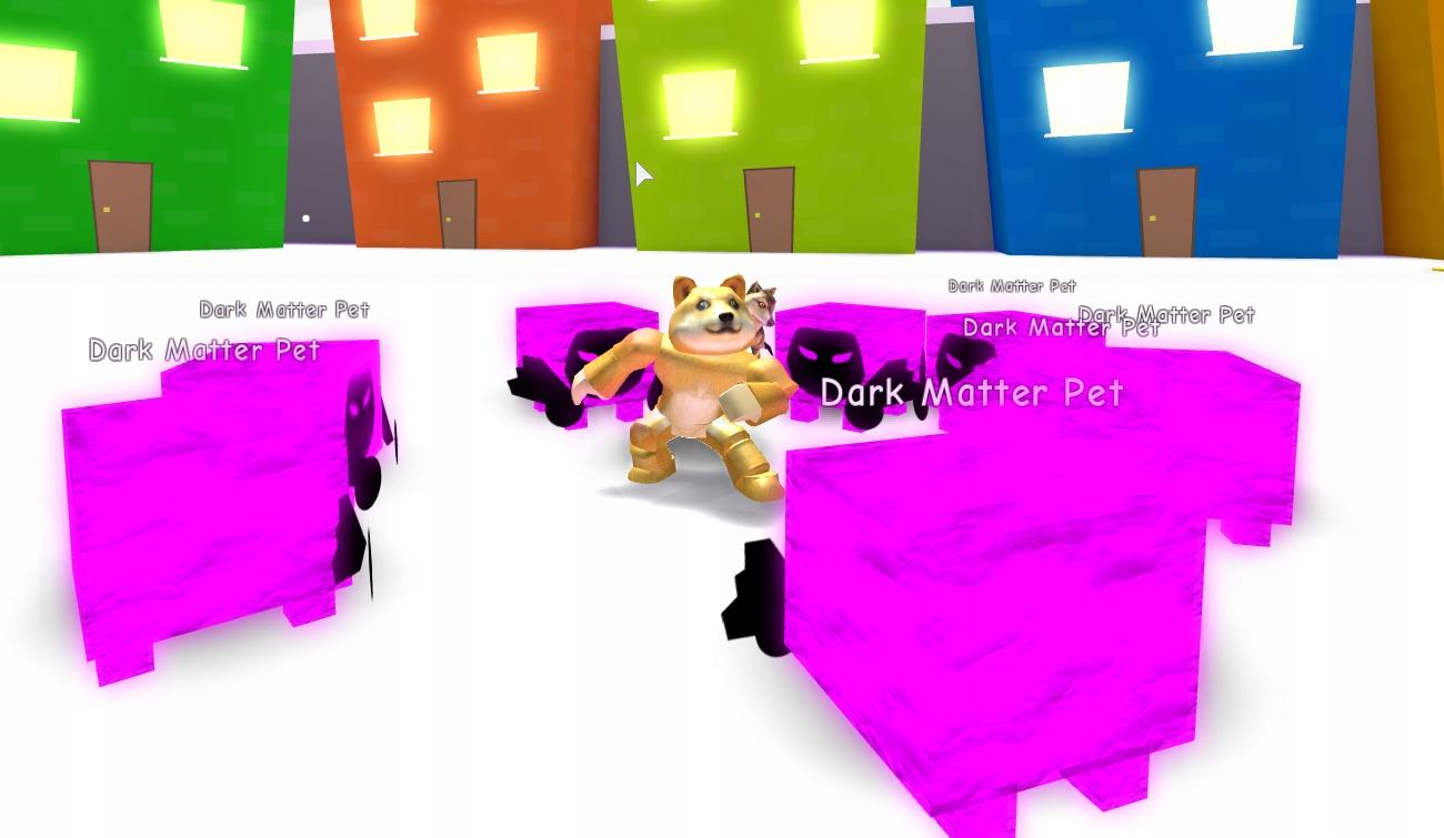 Roblox Pet Simulator Dark Matter Dominus Huge 180M