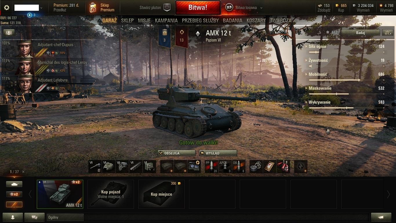 World of Tanks typu 64