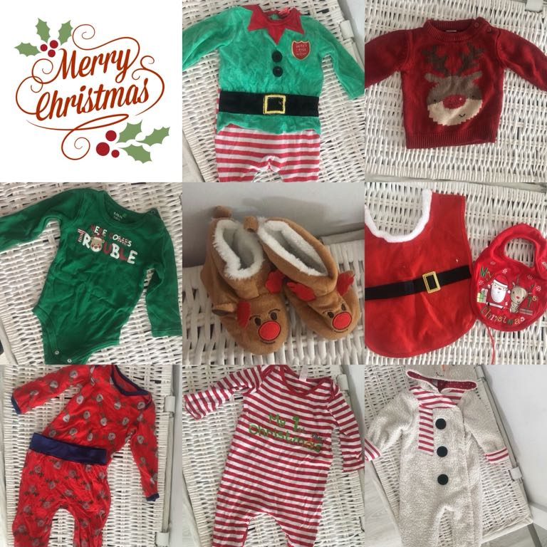 ef6b1b43f6 Ubranka świąteczne Christmas 74 80 - 7077301953 - oficjalne archiwum ...
