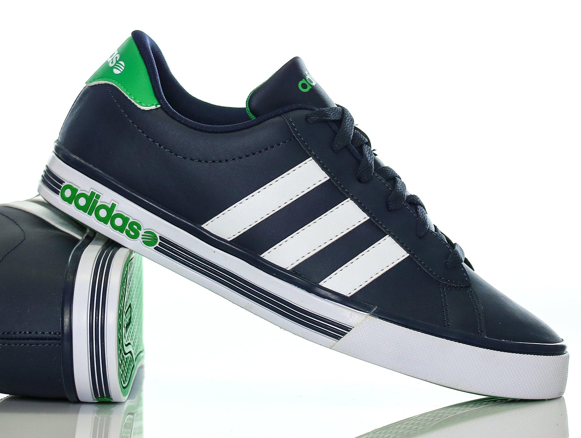 buty męskie adidas neo daily team f38528 czarne