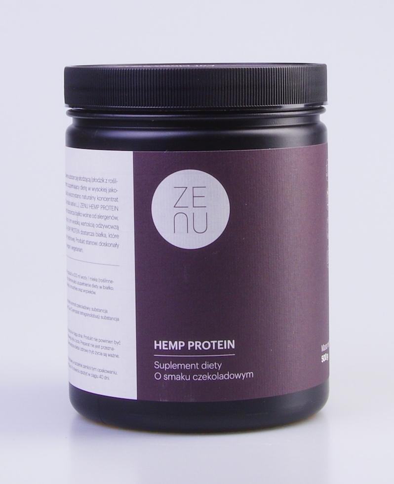 Białko konopne ZENU smak czekoladowy