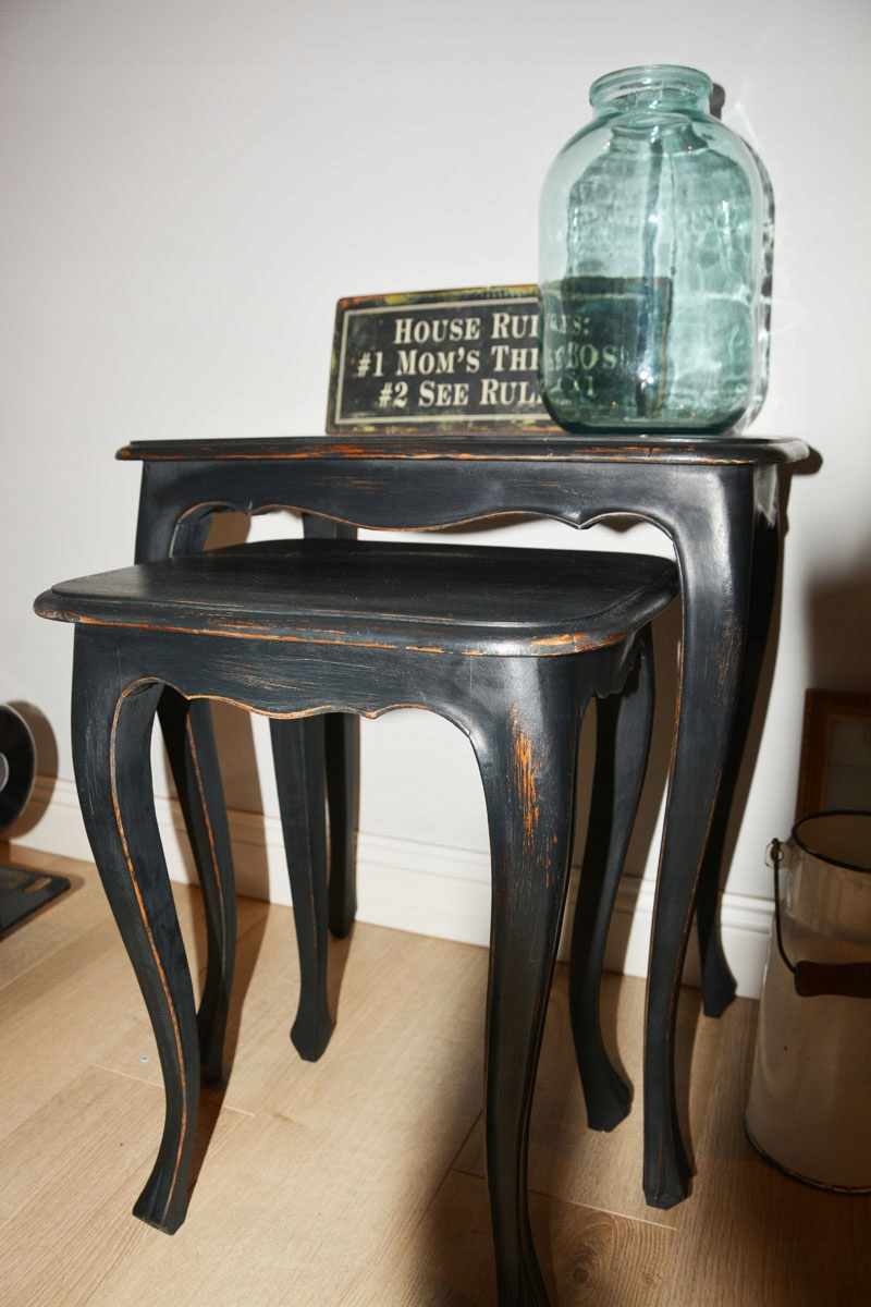 Stare Dwojaki Stoliki Kawowe Vintage Retro 7443975884