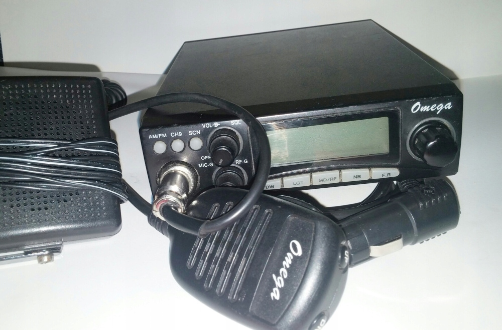 CB radio OMEGA (wersja z małym mikrofonem)