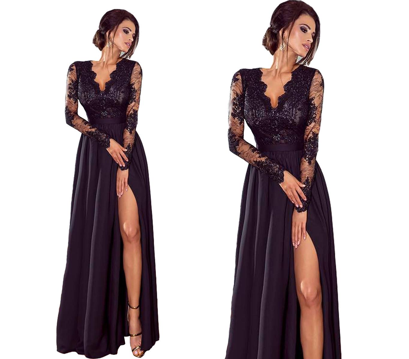 0782ecc6d8 Sukienka wieczorowa elegancka długa 44