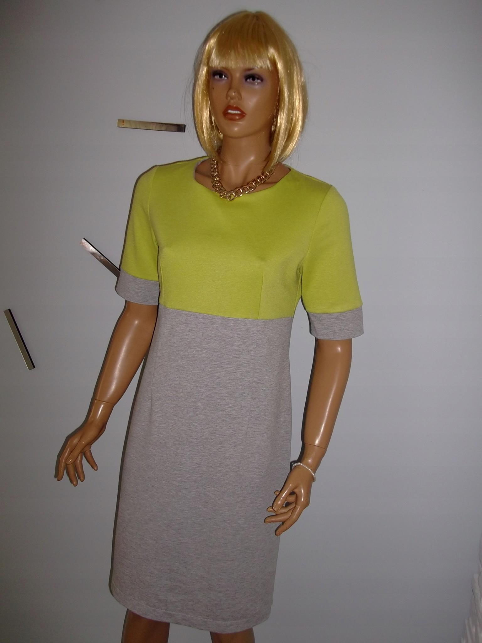e847db1242 Sukienka ołówkowa dzianina QUIOSQUE r. 40!!! - 7607526085 ...