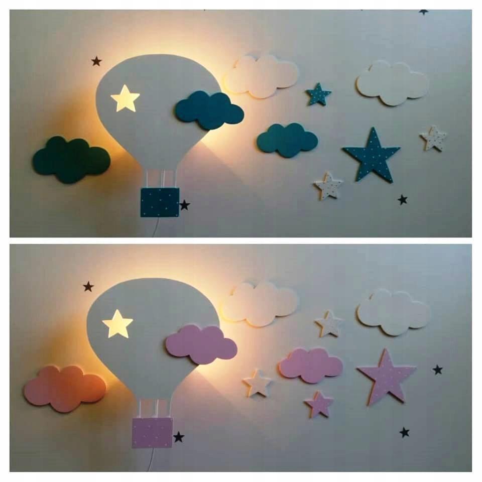 Kinkiet Balon Dekoracja Pokoju Dziecięcego 7596168742 Oficjalne