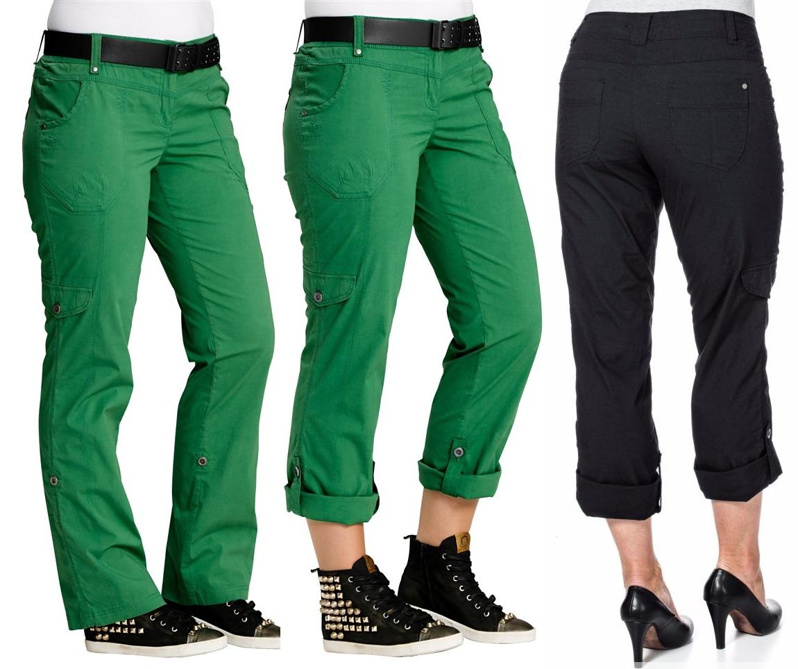 94df541e9fd9 P1302 HIT spodnie BOJÓWKI RYBACZKI 2w1 damskie 52 - 7007859942 ...