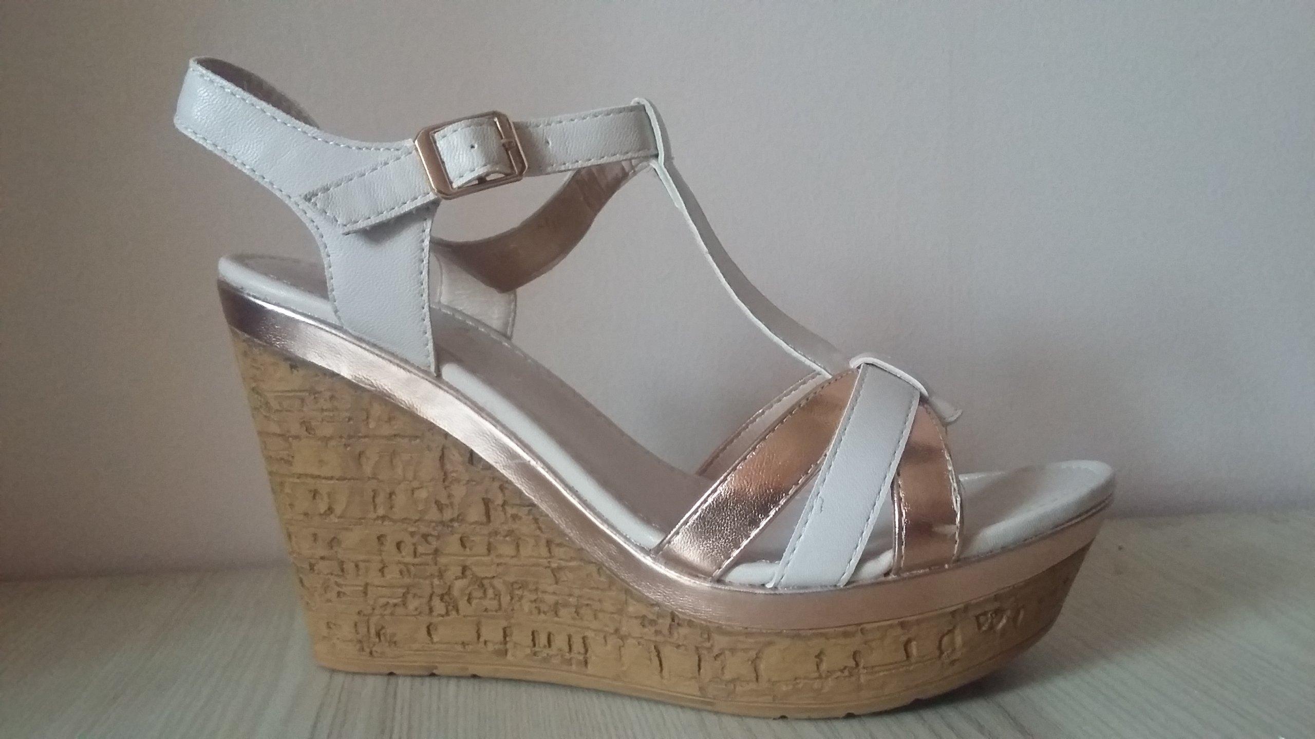 b7de65ff nowe sandały CCC Jenny Fairy 38 koturn - 7266075703 - oficjalne ...