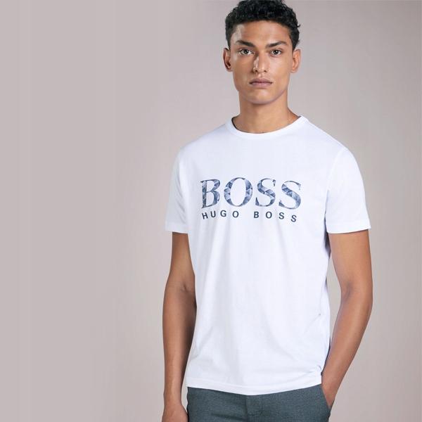 4acc8d8506c54 HUGO BOSS Koszulka Rozmiar M T-Shirt BIAŁA POLO - 7622850514 ...