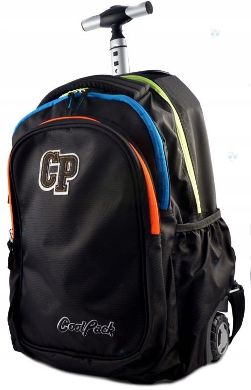 0b9e69738100d plecaki PLECAK WZMOCNIONY na kółkach CP NEONOWY - 7249242589 ...