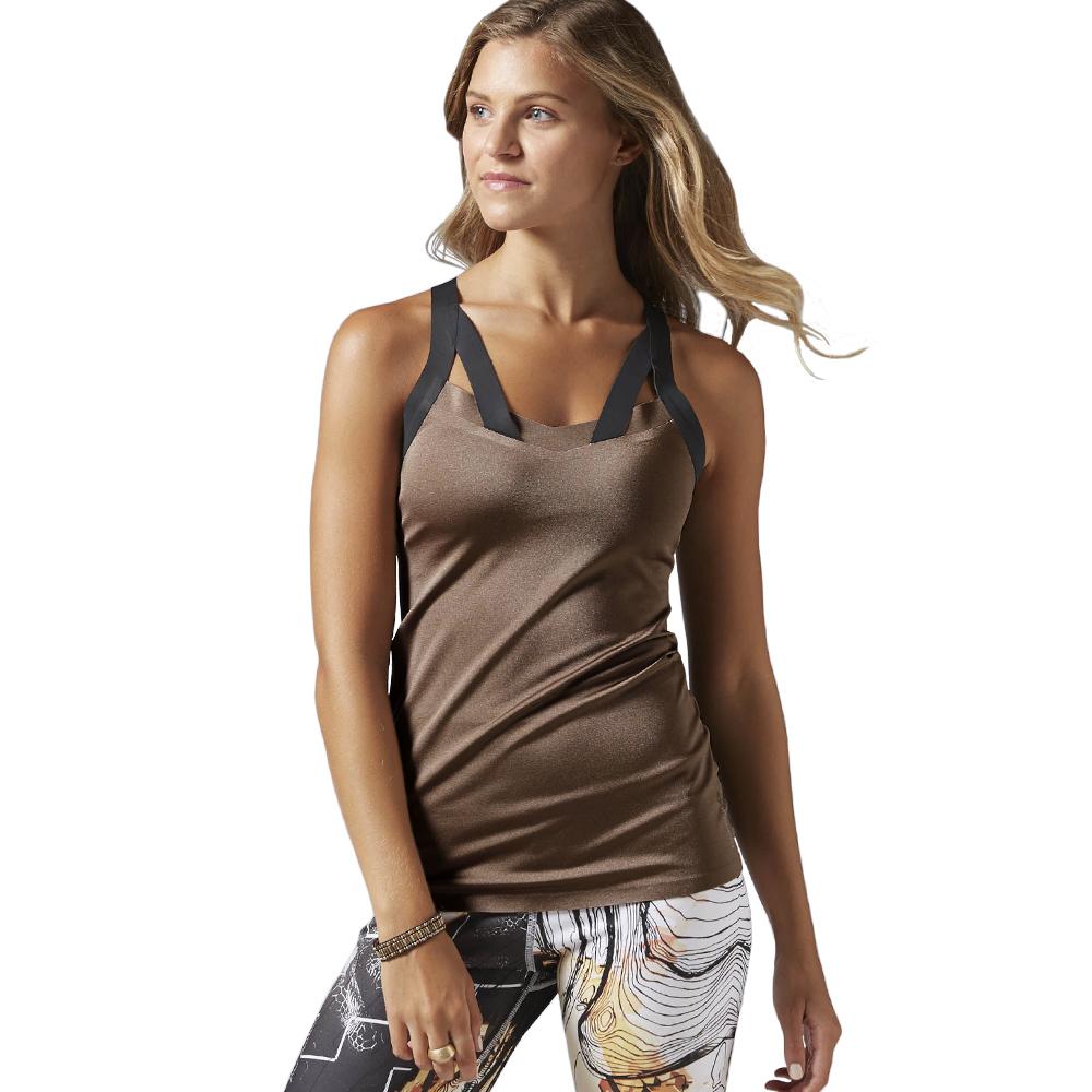 900a69b84924 Koszulka Reebok Bra damska fitness ze stanikiem S - 7295360012 ...