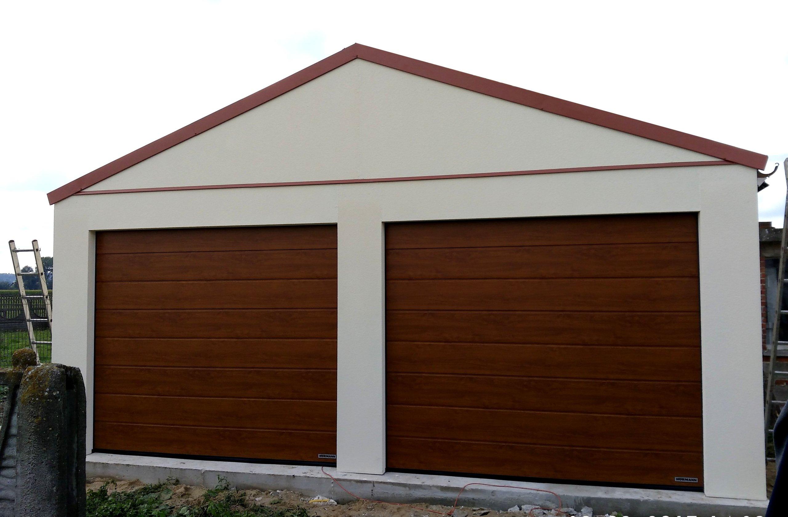 Garaż 35m2 Tynkowany Ocieplany 2 Auta Roanbudpl 7359539799