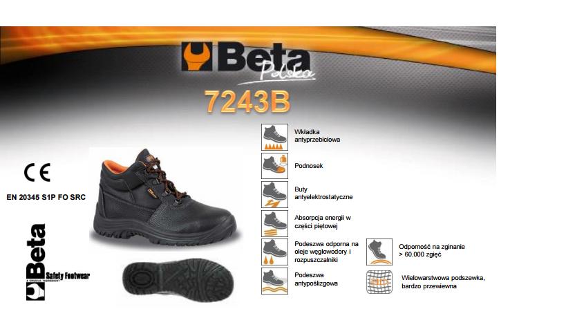 4790278fe8071 Beta buty trzewiki 7243b rozmiar 42 - 7151369752 - oficjalne ...