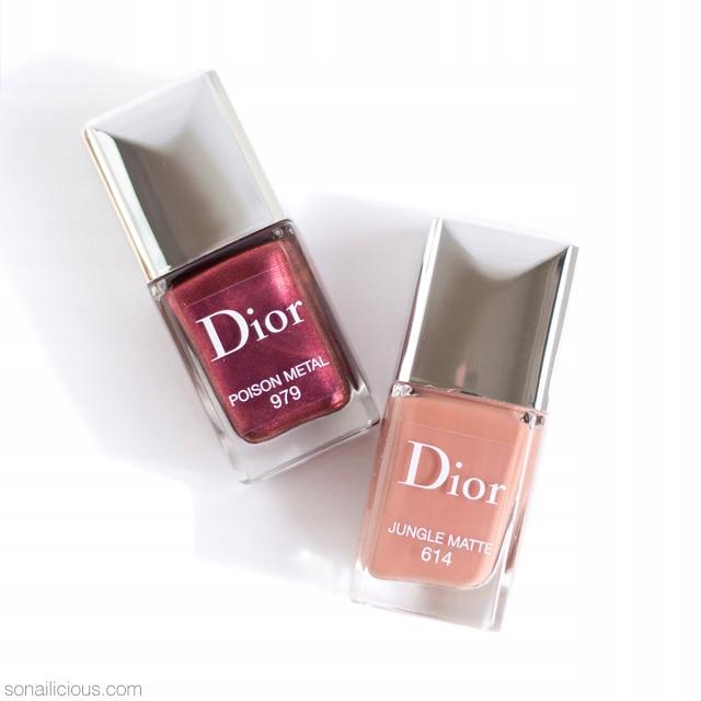 lakier do paznokci Dior poison metal 979