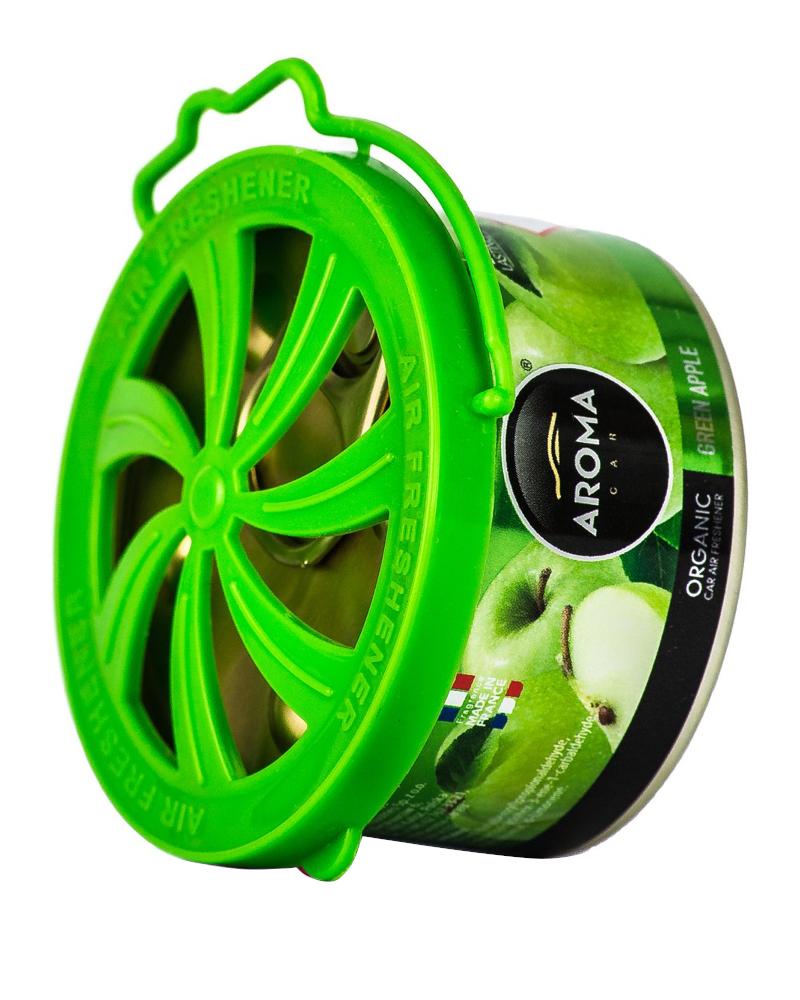 AROMA CAR Organic GREEN APPLE zapach samochodowy