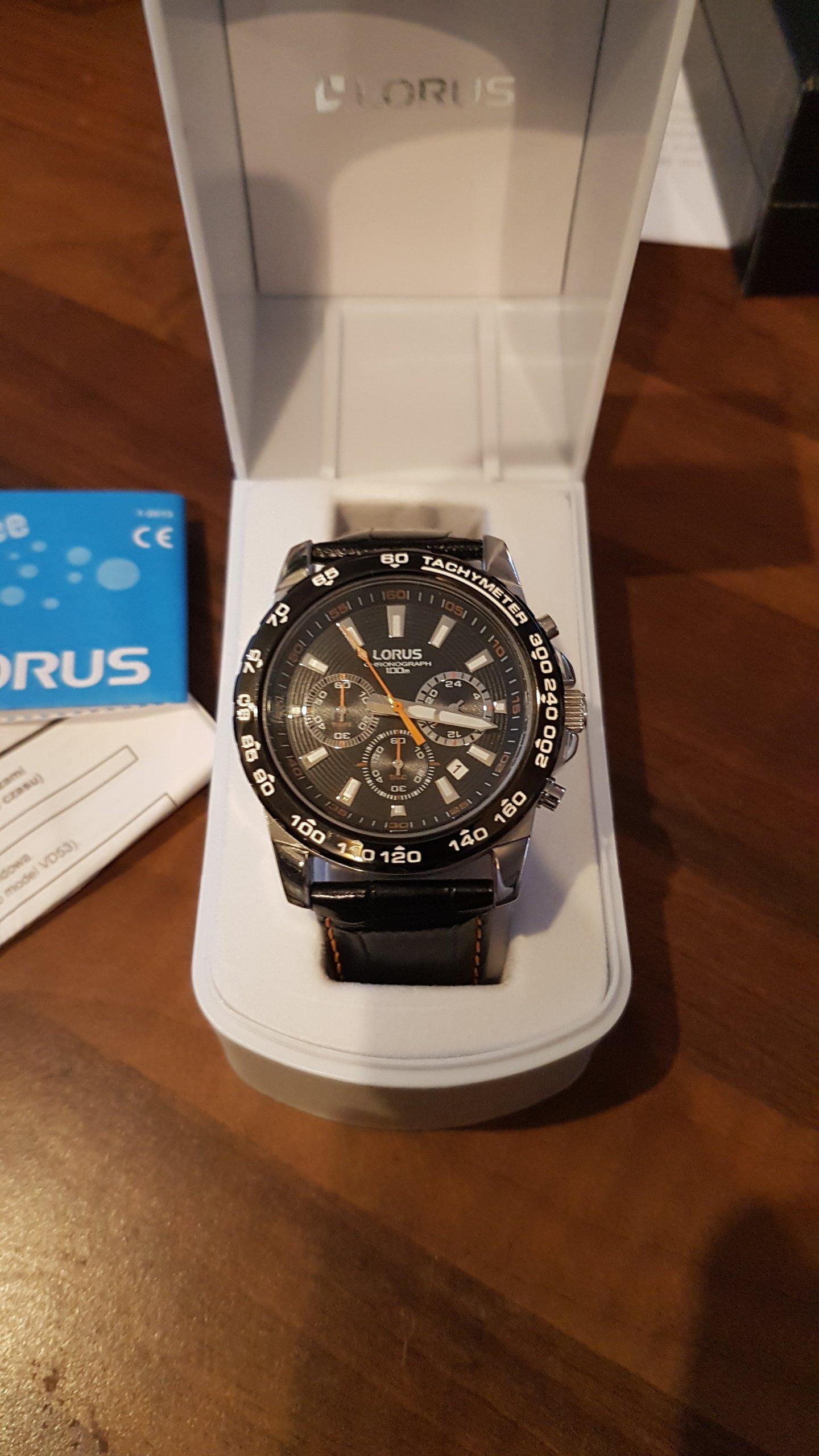 Lorus RT315BX9, BCM
