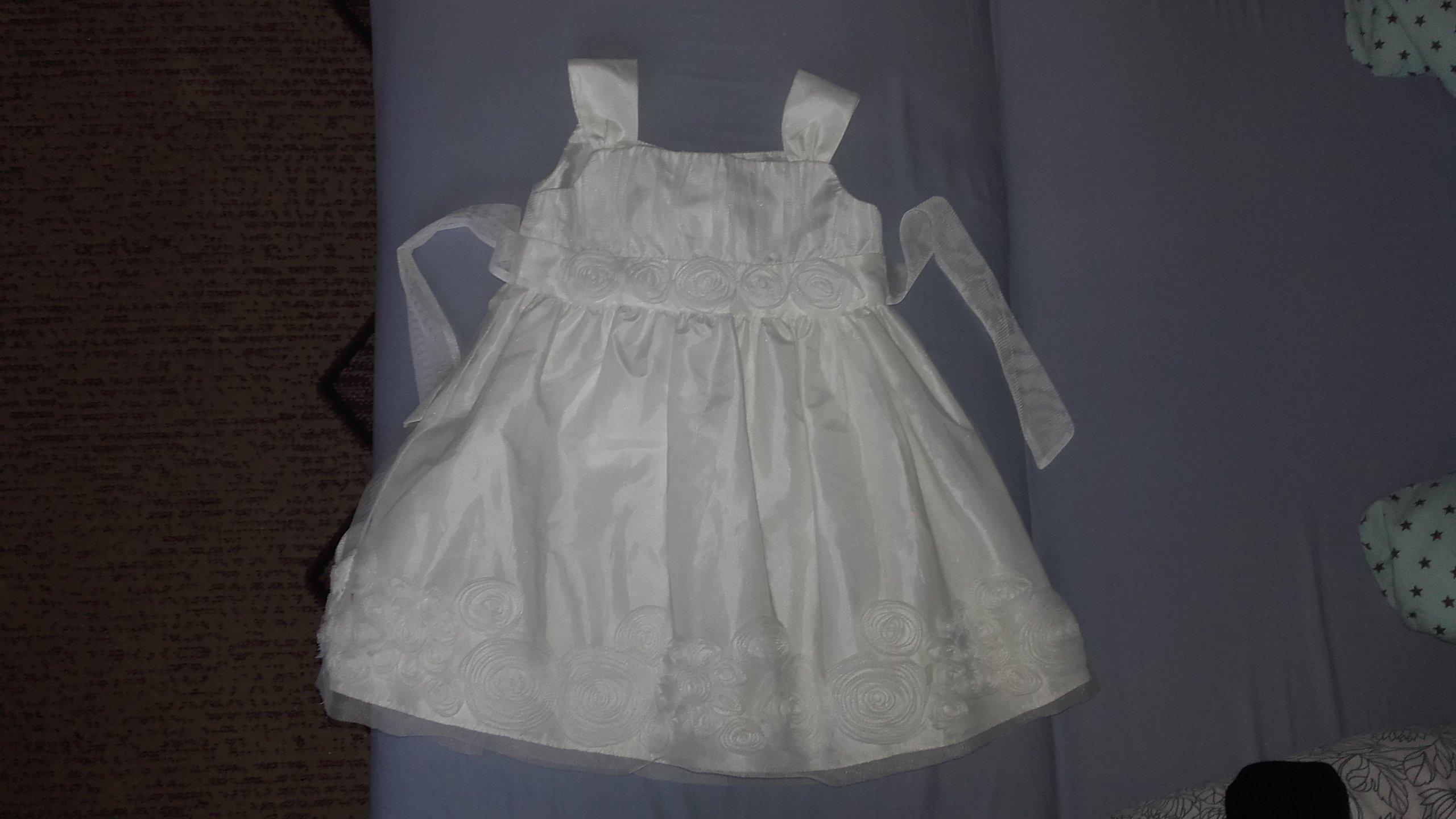 6ebc4c8206 Sukienka do Chrztu rozm. 92 (24miesiące) - 7134842653 - oficjalne ...
